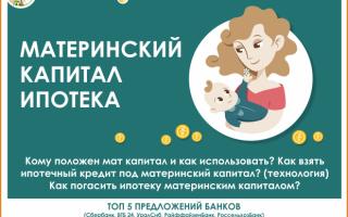 Ипотека и кредиты под материнский капитал: особенности и условия получения