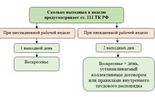 Как оплачивается работа в выходные и праздничные дни по Трудовому Кодексу РФ?