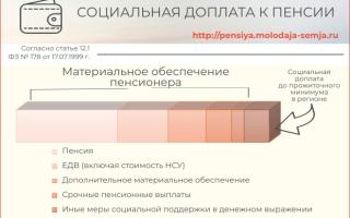 ВДуме пересматривают порядок расчета соцдоплат кпенсиям